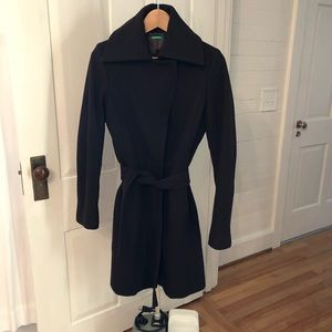Benetton Wool Trench Coat 40